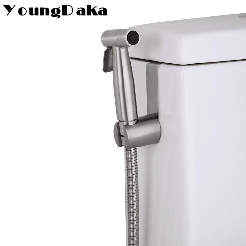 Online Shop 304 Stainless Steel Toilet Hand Held Bidet Bathroom ...