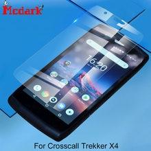 Mcdark-Protector de pantalla de vidrio templado para teléfono, película de cubierta de vidrio templado 2.5D 9H de 5,5 pulgadas para croscall Trekker-X4