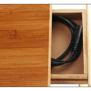 Image 4 - 조정 가능한 대나무 컴퓨터 스탠드 노트북 책상 노트북 책상 노트북 테이블 침대 소파 침대 트레이 피크닉 테이블 학습 테이블