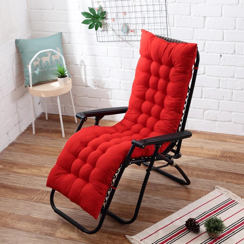 Pleasant Us 11 33 50 Off New Soft Long Cushion Garden Lounger Cushion Thicken Foldable Rocking Chair Cushion Long Chair Couch Seat Cushion Pads In Cushion Inzonedesignstudio Interior Chair Design Inzonedesignstudiocom
