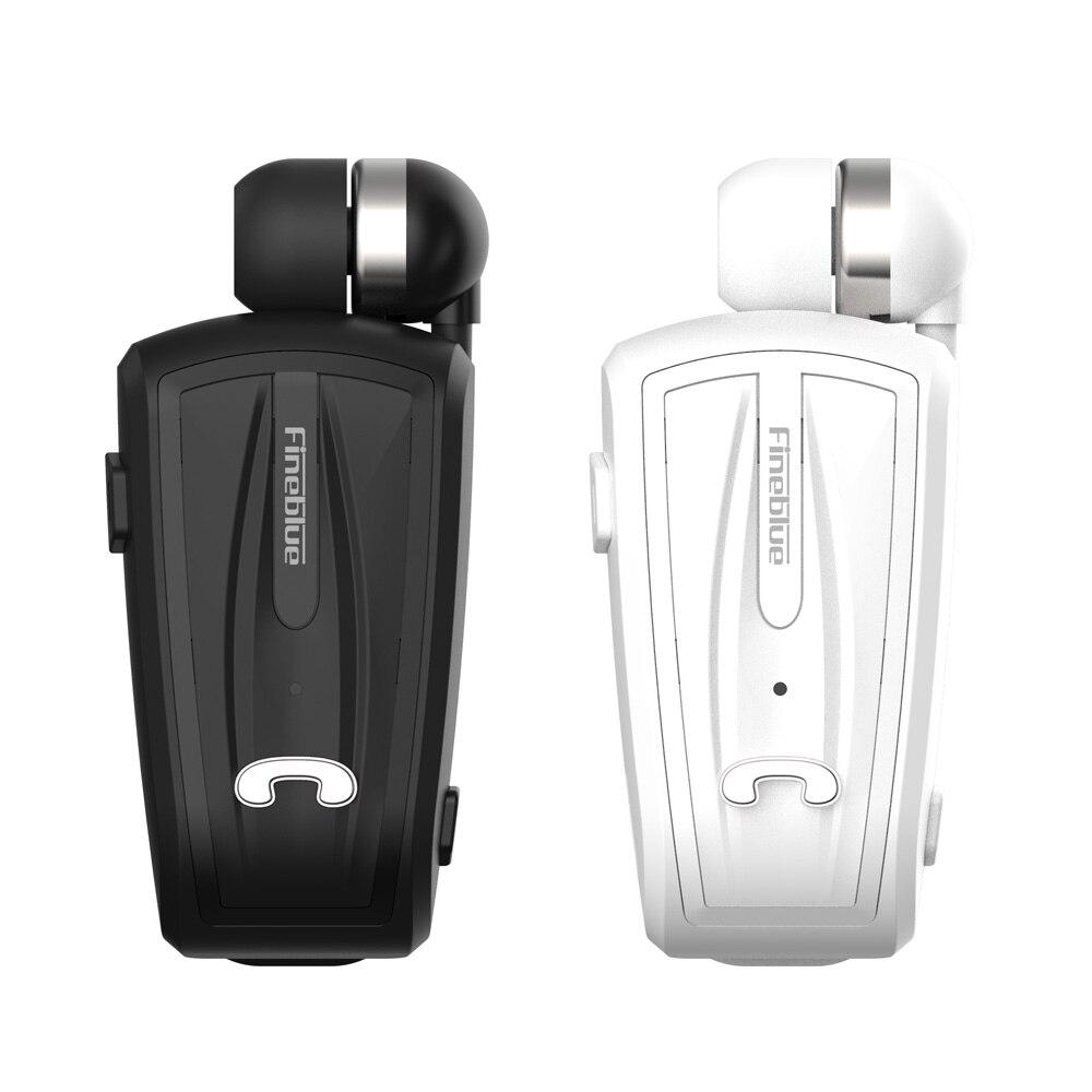 ASTROSOAR - FINEBLUE F-V6 EARPHONES WIRELESS BLUETOOTH 4.0 IN-EAR HEADSET BUSINESS HEADPHONES WEAR CLIP HANDS-FREE WITH MIC