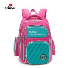 RUIPAI Fashion Kids Waterproof Backpack Schoolbags Orthopedic Shoulder Bags For Boys School Students Bags Rucksack Mochila