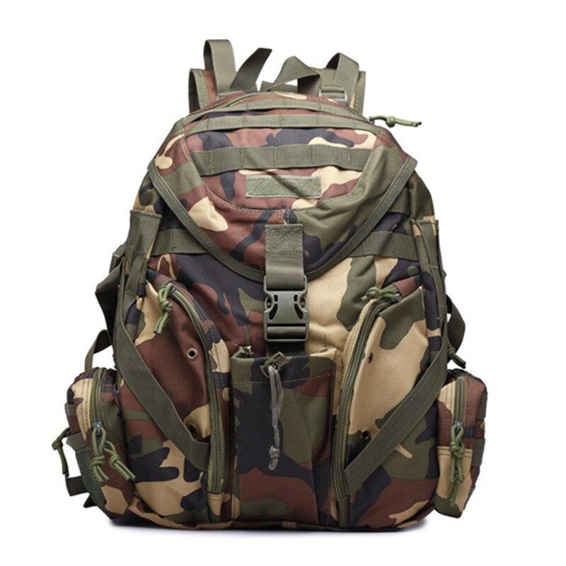 Sac à dos militaire tactique en plein air sac à dos Camping randonnée Camouflage sac de Sport sacs de voyage 20-35L Mochilas - 4