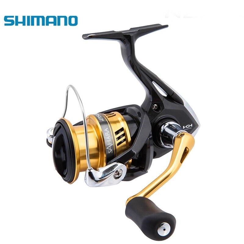 SHIMANO SAHARA FI Original 500 1000 2000HGS 2500 2500HGS C3000 C3000HG 4000XG Saltewater 5000XG Hagane Gear X-Navio de Pesca carretel