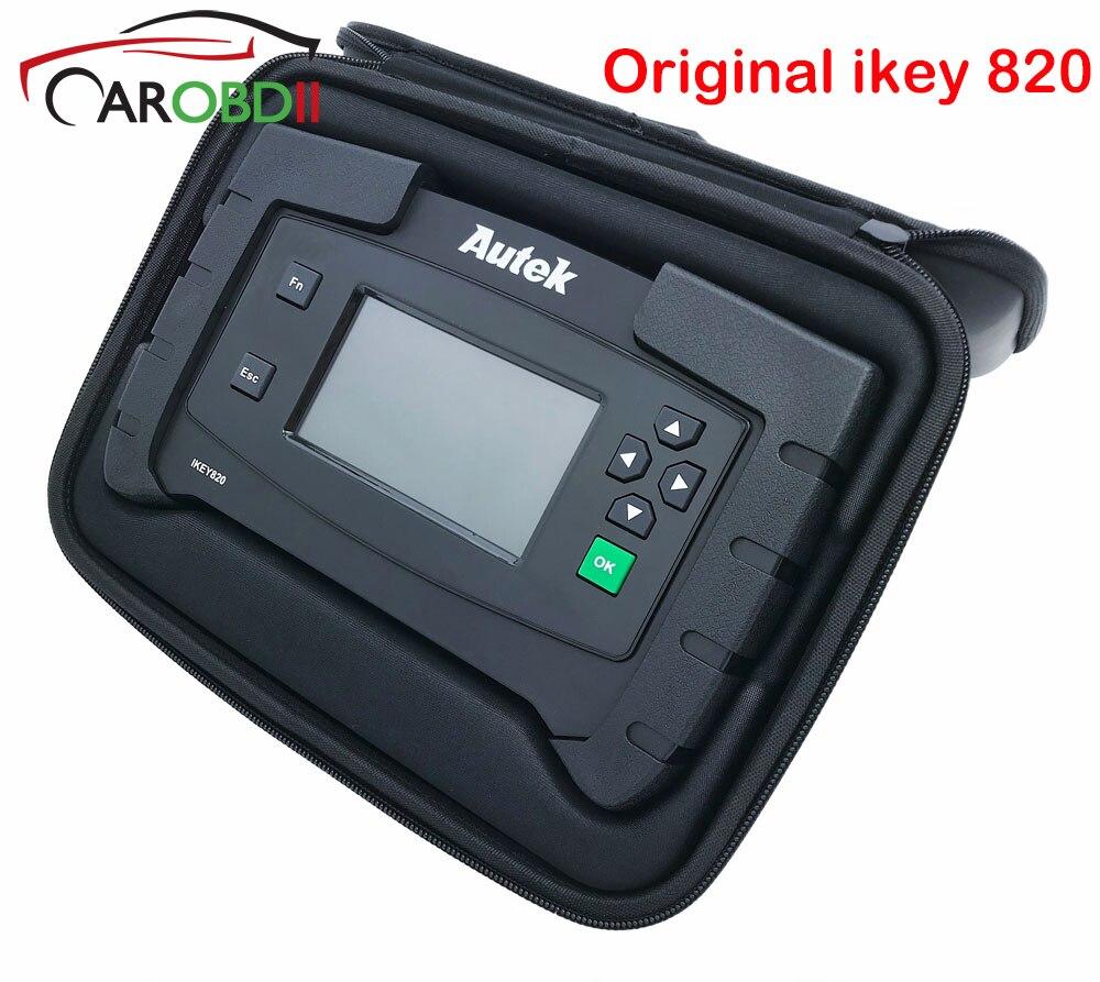 Originale Auto Autek IKey820 Programmatore Chiave Universale Professionale Strumento di Esplorazione Auto Auto Programmatore Chiave Leggi Immobilizer Spille-Codici