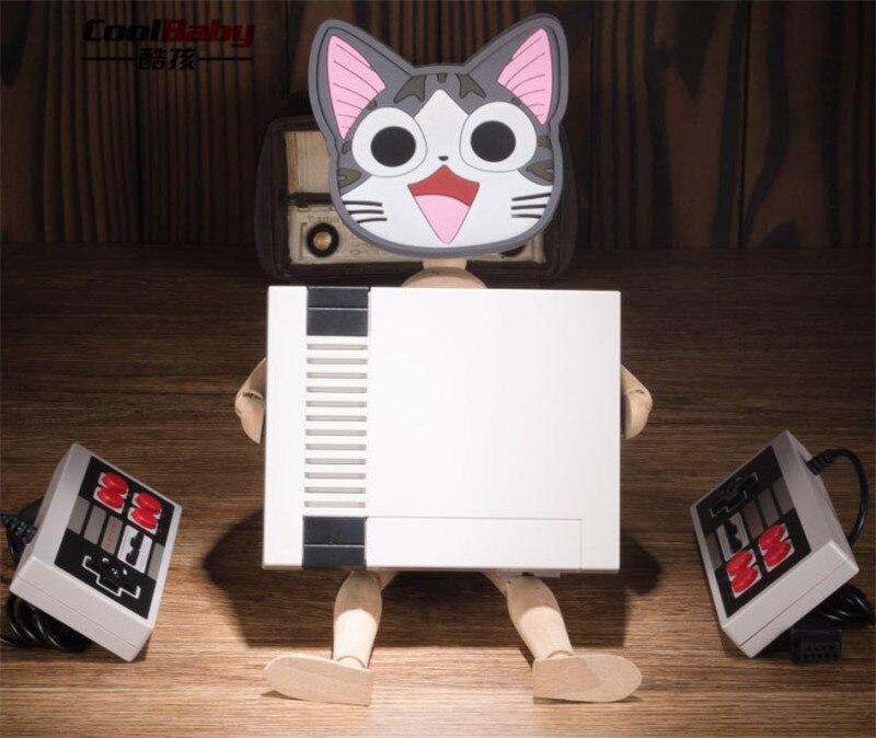 Ntsc Spiele Dhl 30 Stücke Mini-tv-player Spielkonsole Eingebaute 600 Verschiedene Klassische Spiele Dual Gamepad Steuert Pal Portable Spielkonsolen