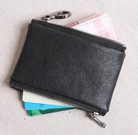 2019 новый модный кошелек из натуральной кожи для монет, женский/мужской маленький кошелек, бесплатная доставка