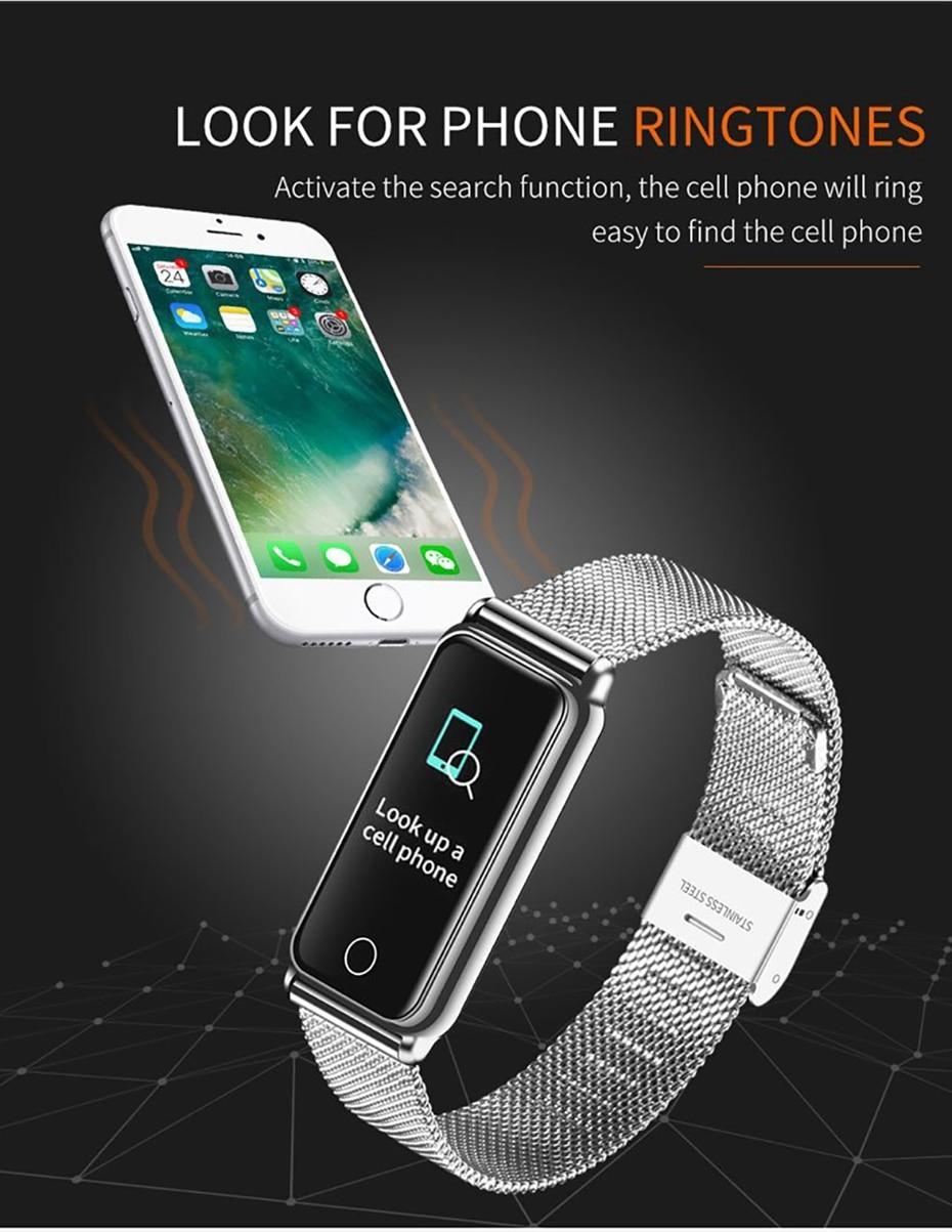 Y8 Smart Watch Stainless Steel Women Sports Touch Screen Health Bracelet Ons Men Fitness Bracelet for Measuring Pressure Fitness 2018 2019 (17)