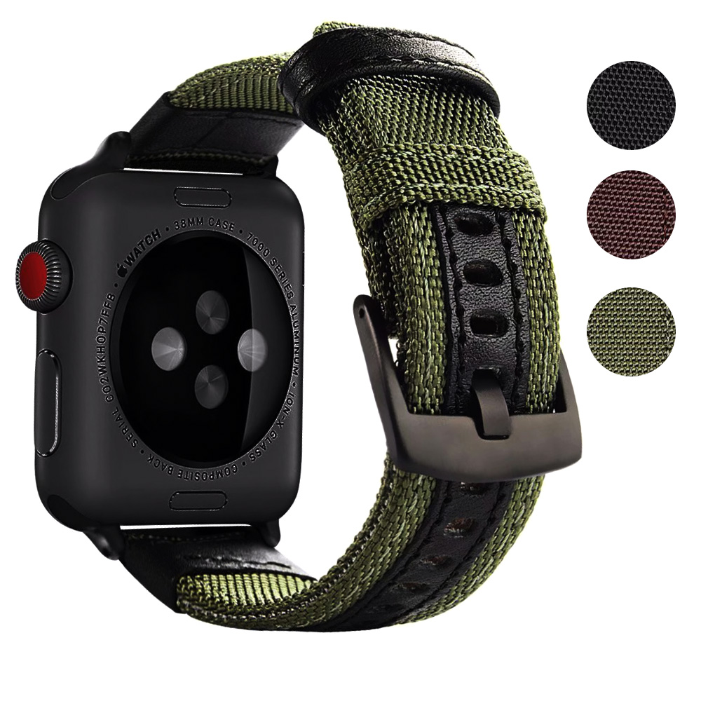 Jeep Nylon Replacement for apple watch bands 42mm series 3