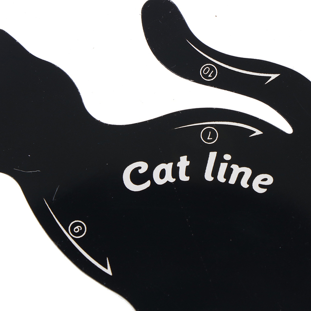 Women Cat Line Eyeliner Stencils  Pro Eye Template Shaper 3