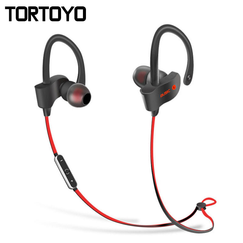 stylish s2 wireless headphone neckband in ear hook sports bluetooth headset sports earbuds for. Black Bedroom Furniture Sets. Home Design Ideas