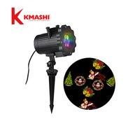 Kmashi 16 Mô Hình Slide Lấp Lánh Laser Light Show Xoay Ngoài Trời Đèn Chiếu Giáng Sinh Chiếu đối với Khách Sạn Holiday