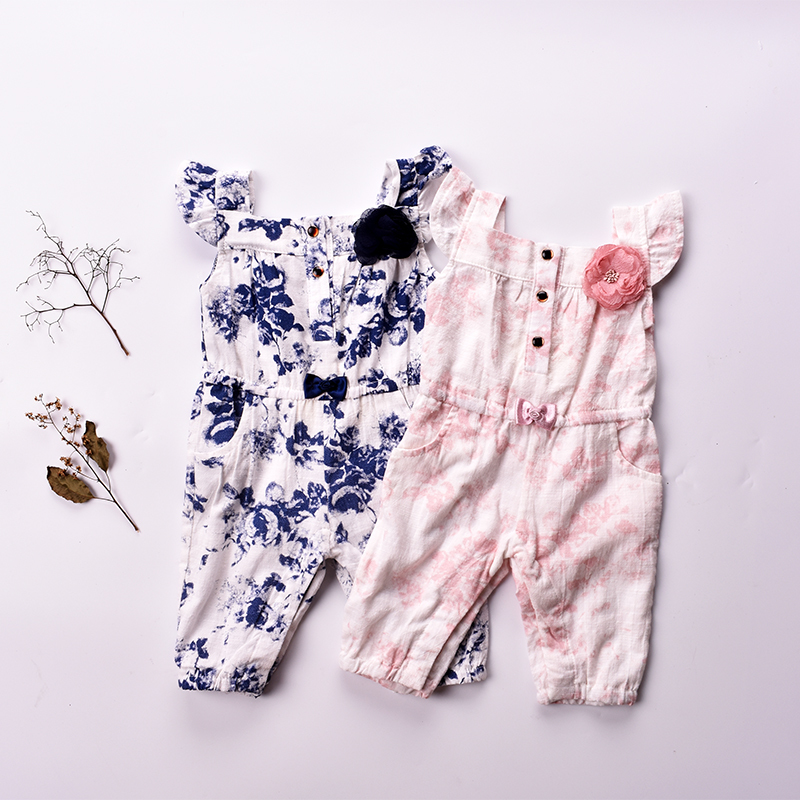 Baby clothes 2018 baby romper floral baby girls Rompers sleeveless cotton Newborn Jumpsuits for infantil clothing