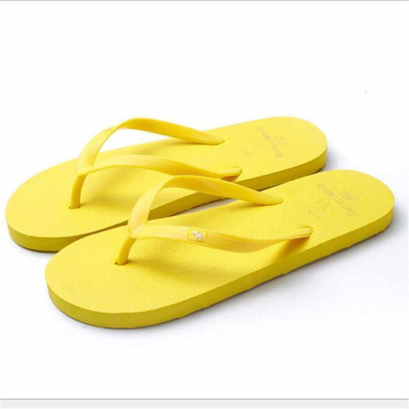 Neue sommer ultraleicht frauen flip-flops sandalen Unisex indoor flip-flops strand schuhe frauen plus größe