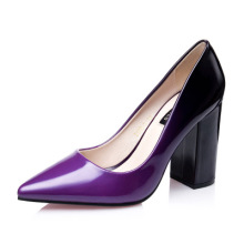 Fashion New Office Lady Pointed Toe 9cm Red Bottom High Heels Shoes Mixed Colors Red Sole Women Pumps Woman Pumps Tacones Party