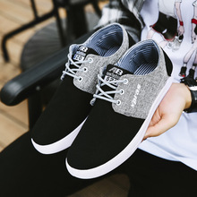 Men Casual Shoes Spring Mens Loafers Leisure Canvas Shoe For Men Cool Walk Shoes