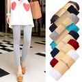 Women's Fashion Korean Style Candy Color Modal Cotton Slim Leggings Pants