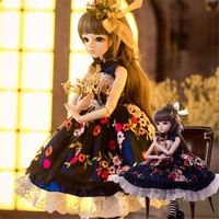 BJD Dolls Silicone Rebron Baby Dolls Newborn Baby 23 inch Realistic Princess 6 cm Kids Playmates Handmade Jointed Doll