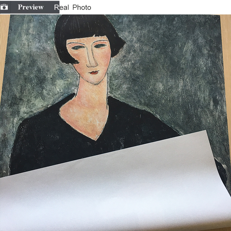 HTB1m9djVQvoK1RjSZFwq6AiCFXaG Classic Amedeo Modigliani Picasso Artwork Collection Sketch Canvas Print Painting Poster Wall Pictures Living Room Home Decor