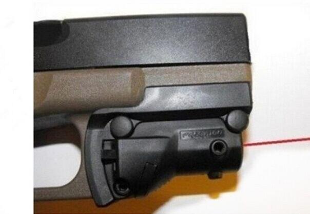 Тактический охотничий лазерный прицел с красной точкой 5 МВт лазер для пистолета/пистолета винтовочный пистолет Glock 19 23 22 17 21 37 31 20 34 35 37 38 (ht022)