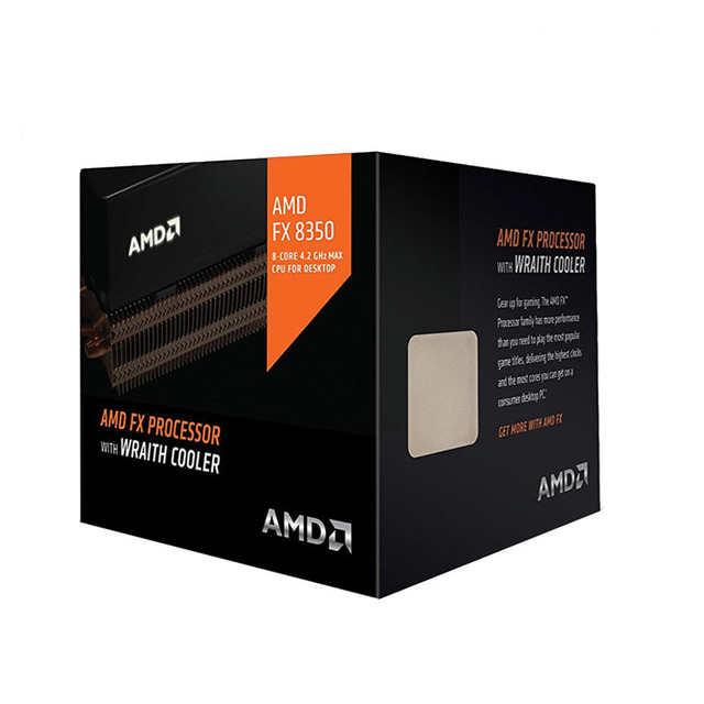 AMD FX 8350 FX 8350 CPU Processor Boxed met radiator FX Serie Acht Core 4.0GHz Desktop Socket AM3 + FD8350FRW8KHK verkoop FX 8300