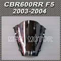 Motor For Honda CBR 600RR F5 2003 2004 03 04 Windshield/Windscreen Silver Motorcycle Accessories New