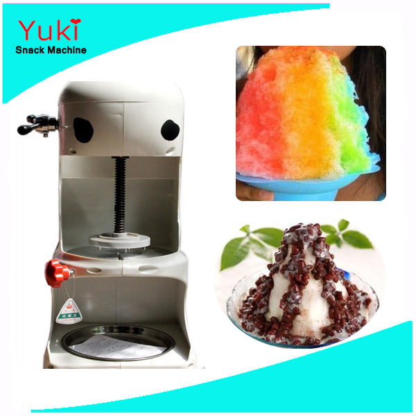 hot sale electric commercial snow ice shaver machine summer ice cream snack machine ice crusherin ice crushers u0026 shavers from home improvement on - Ice Crusher Machine