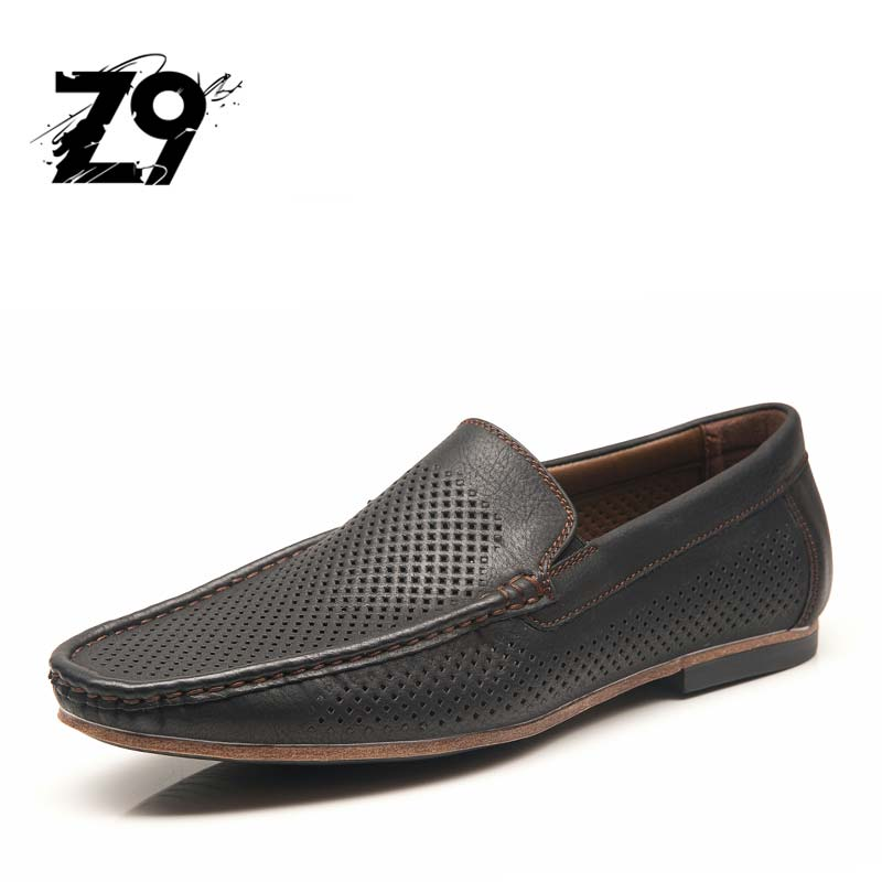 Men Loafers 2017 Casual Boat Shoes Fashion Genuine PU Slip On Driving Shoes Moccasins Hollow Out Men Flats Gommino MG2121 2017 autumn fashion men pu shoes slip on black shoes casual loafers mens moccasins soft shoes male walking flats pu footwear