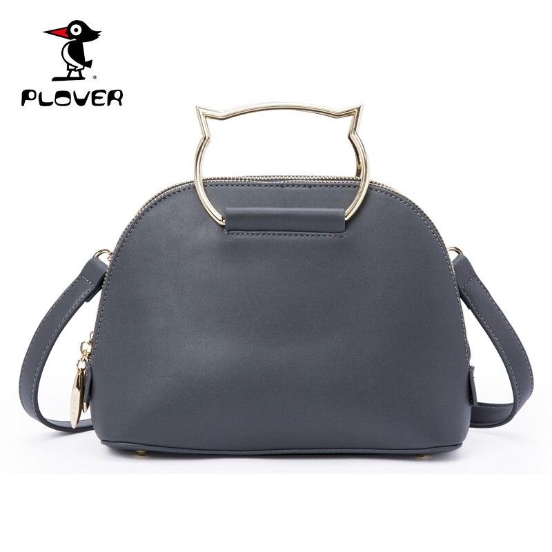 ФОТО PLOVER Women Handbag Famous Brands Shoulder Bags Women High Quality Leather Tote Bag Ladies Hand Bags Designer Channels Handbags