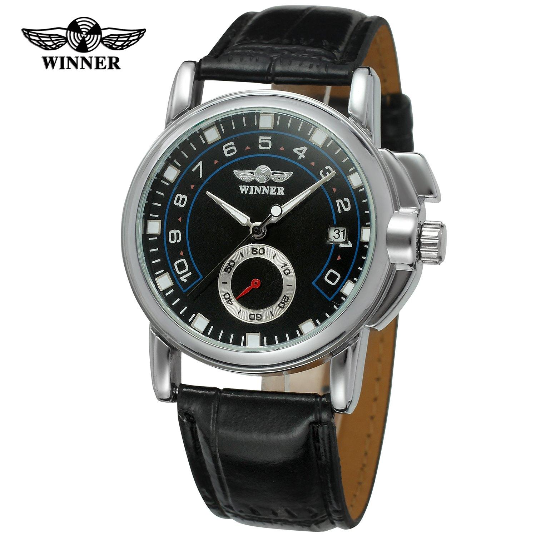 09eb92c75af Luxusní značka WINNER Dámské módní šaty hodinky Stříbrné pouzdro ...