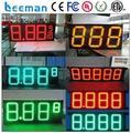 Leeman led цена на газ дисплей/привело азс знак/led цен на топливо знак 15 inch led азс цена вывеска/отображает