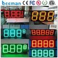 Leeman led gas price display/led gas station sign/led fuel price sign 15inch led gas station price sign board/displays