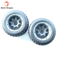 King Motor Baja T1000 Buster wheel tire tyre set rear for HPI BAJA 5T Parts Rovan