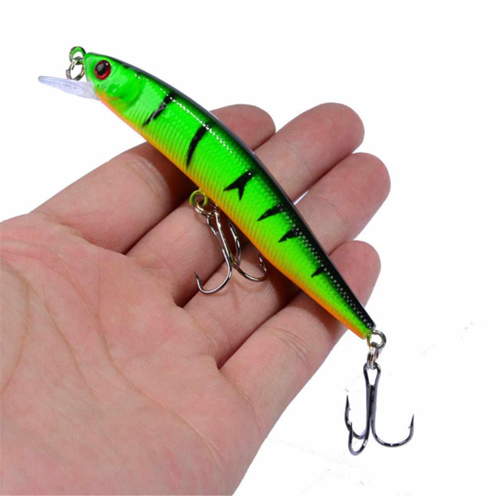 1 pz 8.2g 10cm 10 colori esca dura pesciolino esche da pesca Peche Bass traina esca dura artificiale Crankbait carpa attrezzatura da pesca