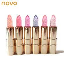 NOVO Brand Jelly lipstick makeup Magic Temperature Changing Color Korean style c