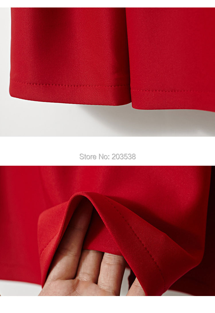 Slim Solid Casual Skirts  28.jpg