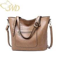 Women Crocodile Pattern Handbag 2019 Ladies PU Leather One Shoulder Bags for Female Big Fashion Tote Bag Crossbody Bag for women