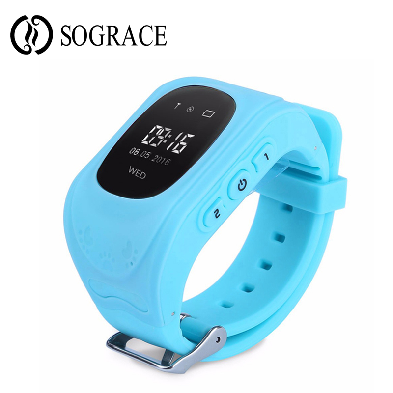 Q50 SOS Kids Watches Baby Smart Watch With Children GPS Passometer Call Reminder Finder Locator Tracker Anti Lost Smartwatch 2G