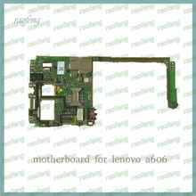 Raofeng free ship well work Motherboard for lenovo a606 unlocked with android full function mainboard with chips logic board(China)
