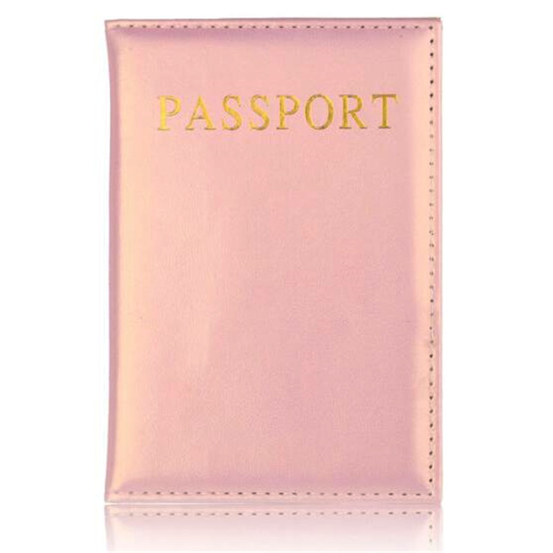 Universal Travel Passport Cover Women Pu Leather Cute Pink Holder Passport Lovely Girl Passport Case Travel Covers for passports