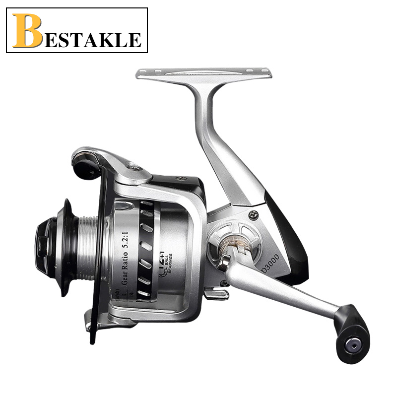 New Arrival HOT High Quality Cheapest Spinning Reel Fishing Reel 1000-9000 Series in Blue Black Color Ball Bearing Reels