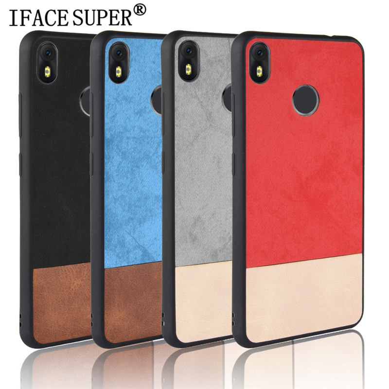 For INFINIX HOT S3 Case Bi-color SPlicing PU Leather PC+TPU Hybrid Back  Cover For INFINIX HotS3 X573 X573B Phone Case Shell