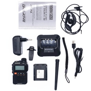 Image 3 - Baofeng UV 3R Plus Walkie Talkie Uhf Vhf Mini Uv 3R + Draagbare Cb Radio Vox Zaklamp Fm Transceiver Ham Radio amador UV3R