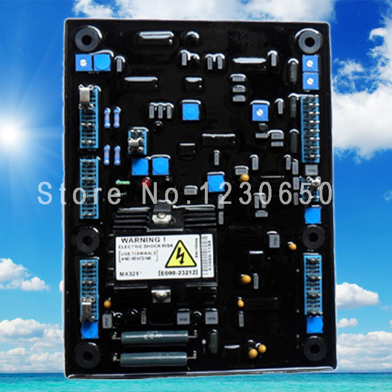 ̀ •́ MX 321 35 kw to 600kw Genset Leroy somer AVR MX321 - a550 on