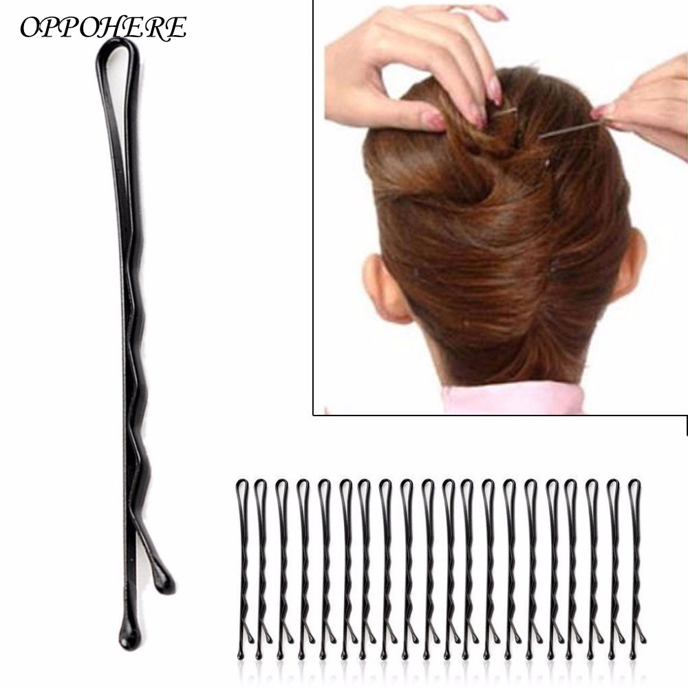 60 Pcs/set Hair Clips Bobby Hair Pins Invisible Curly Wavy Grips Salon Barrette Hairpins Sales and hot deals