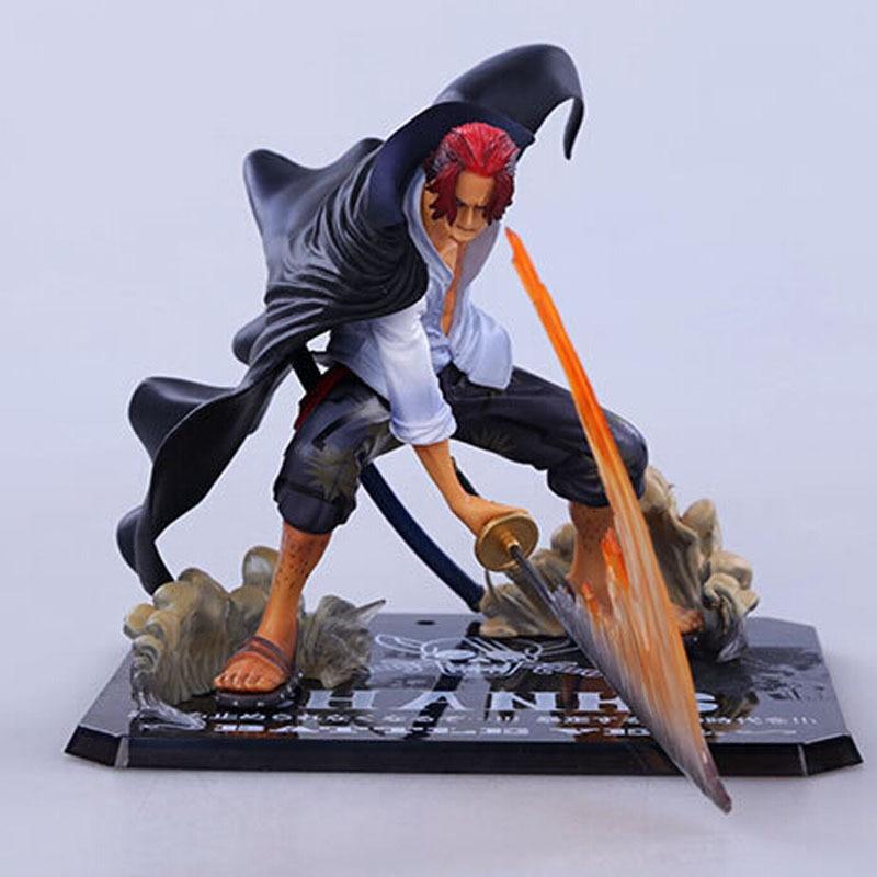 12cm Anime ONE PIECE Action Figure ZERO Emperors Akakami ...