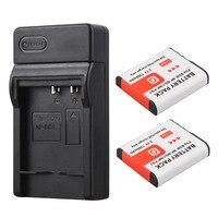 2x NP BG1 NP FG1 Digital Battery 1300mAh Charger For For Sony NP BG1 NP FG1