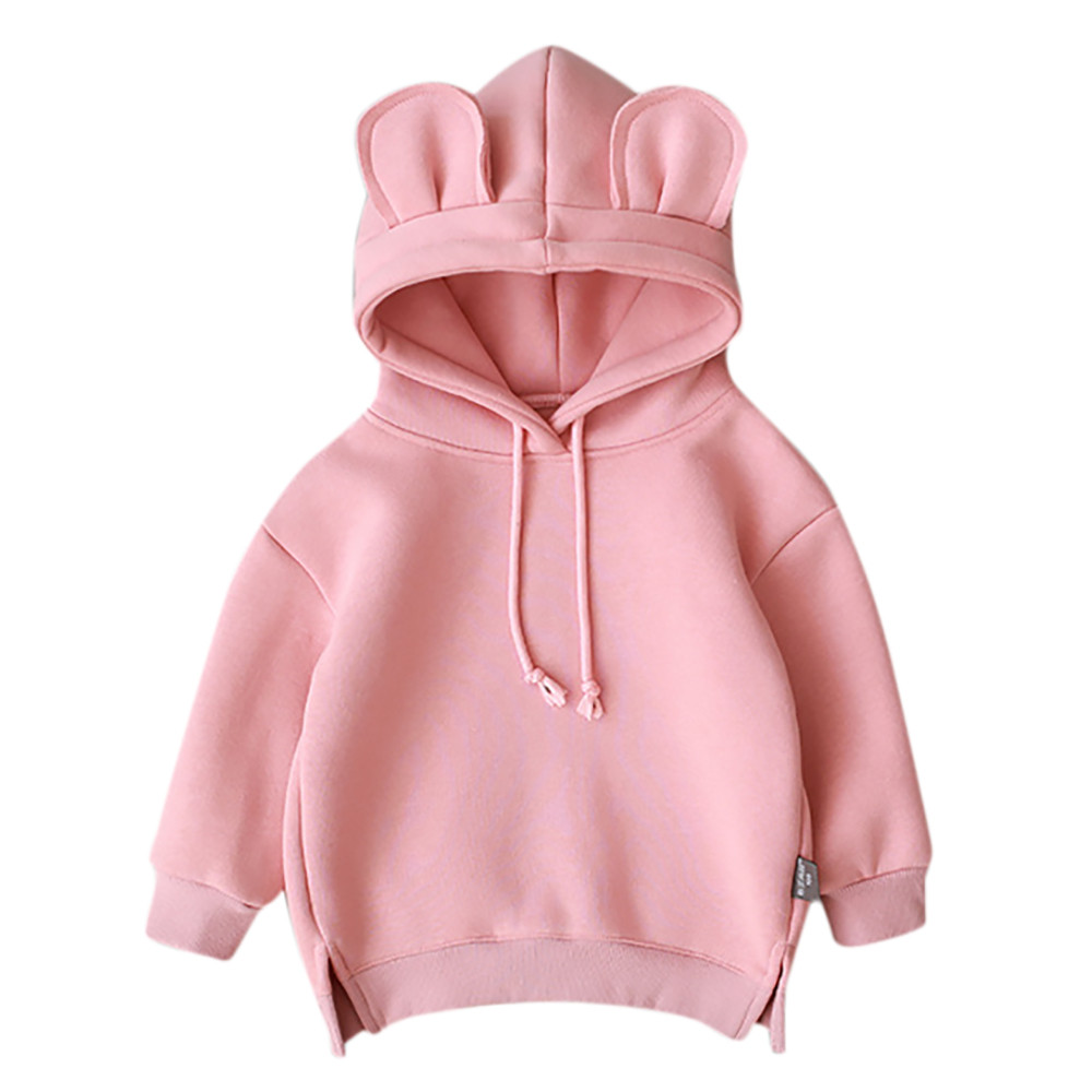 MUQGEW Sweatshirt Hooded Toddler Infantil Girl Baby Winter Kids Cartoon Boy Tops Roupa