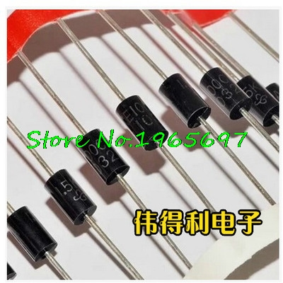10pcs/lot 1N5349B IN5349B DO-15 Zener Diode 12V 5W In Stock