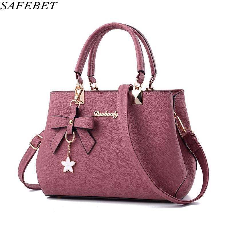 SAFEBET Brand Designer Handbags High Quality Women Bag Fashion Ladies hand bag  PU Leather Women's  Messenger Shoulder BagTote